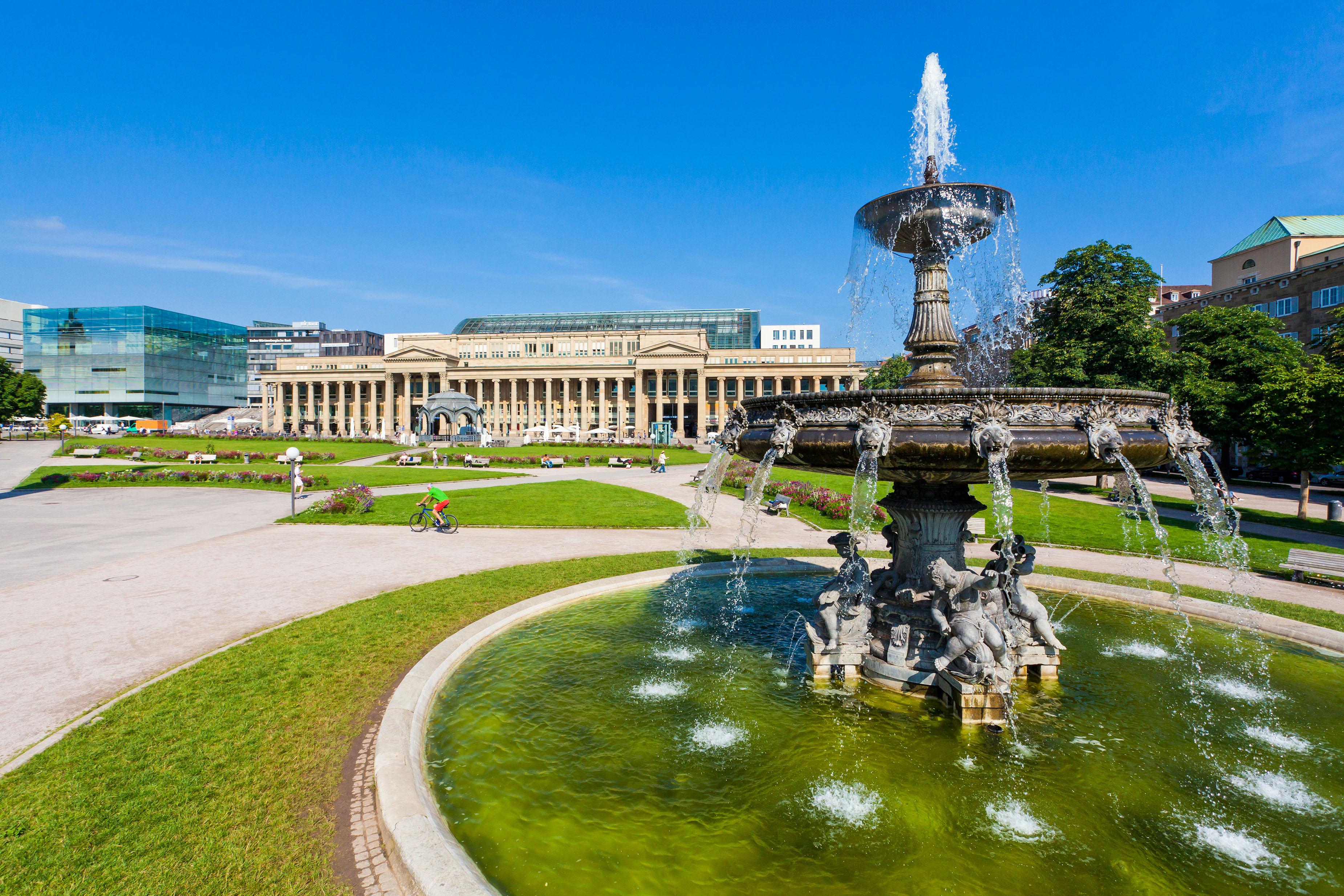 Kunstmuseum, Königsbau, Schlossplatz, Stuttgart